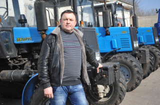 Ukrainian grain farmer grows with loans through EU4Business