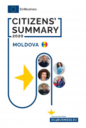 Citizens' Summary 2020: Moldova